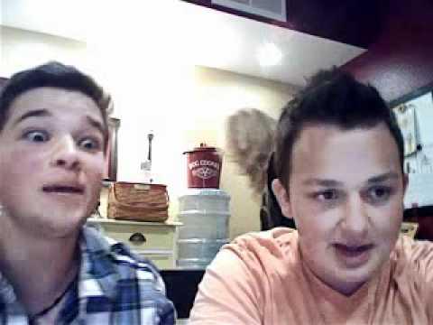 Noah Munck and Nathan Kress Ustream Part 34  01.06.2011