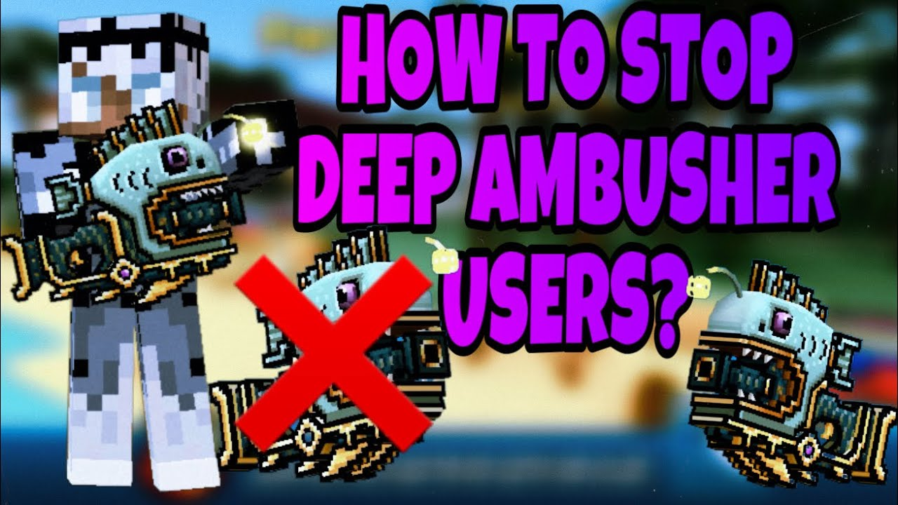 HOW TO STOP DEEP AMBUSHER USERS? ❌ | Pixel Gun 3D