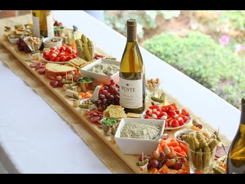 How To Make An Antipasto Board Table Runner Youtube