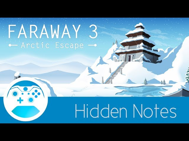 Faraway 3 All Hidden Notes/Letters Level 1-9