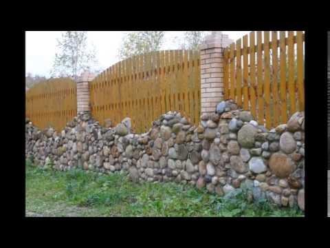 32 фото деревянных заборов на разный вкус. Красивые деревянные заборы