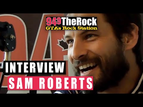 Sam Roberts Interview on 94.9 The Rock