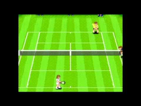 Super Tennis (SNES) - Gameplay