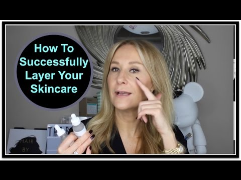 How To Layer Skincare Morning & Night - Nadine Baggott
