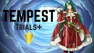 Winter Cecilia (´♡‿♡`) 1st Run! | Life Is But Fleeting | Tempest Trials+ #15 【Fire Emblem Heroes】