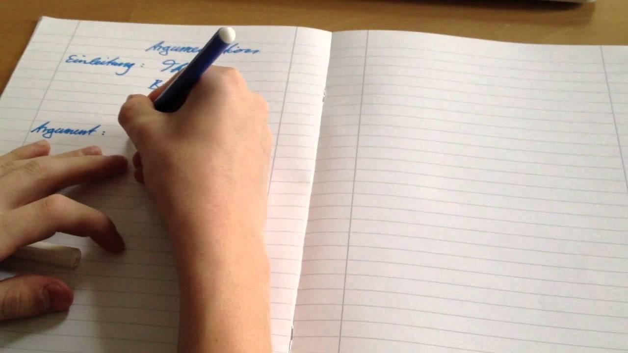Argumentation Schreiben Tipps Für Schule Und Studium Youtube