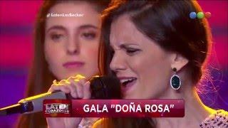 """La Familia Melsa Becker canta """"Como toda mujer"""" - Laten Corazones"""