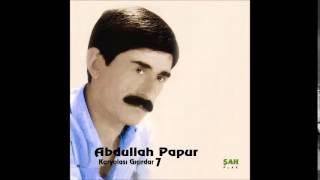 Abdullah Papur - Gözlerini öyle süzme -  Music [ © ŞAH PLAK ]