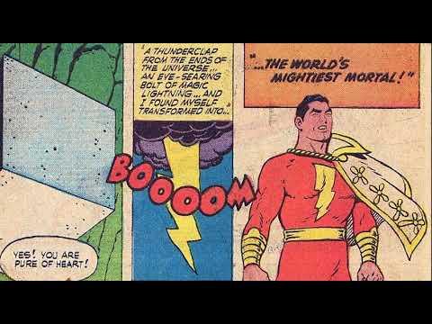 Shazam Origins Captain Marvel