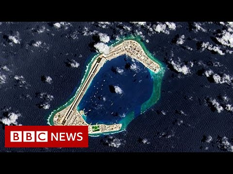 South China Sea dispute: China's pursuit of resources 'unlawful', says US - BBC News