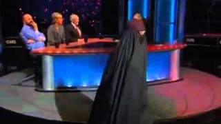 Bill Maher Burka fashion show