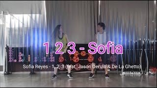 Sofia Reyes - 1, 2, 3 (feat. Jason Derulo & De La Ghetto) coreografia zumba Brasuka Dance fit Video