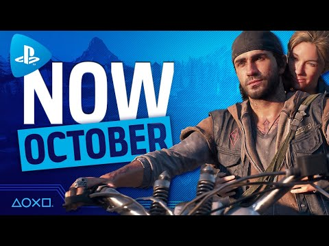 PlayStation Now - New Games October 2020