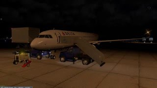 X-Plane 10   VATSIM   A320   KBOS-KJFK   FULL FLIGHT
