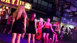 Walking Street, Pattaya Night Life - Thailand 4K HD