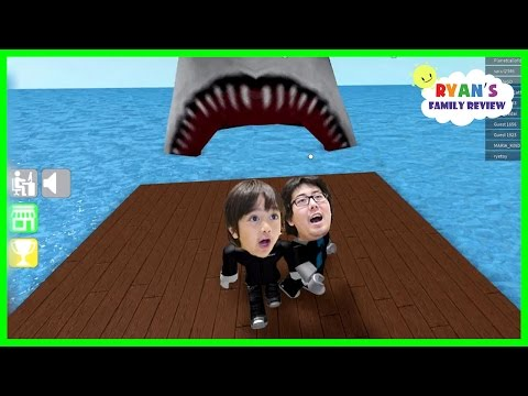 Ryan and Daddy Game Night! Let's Play Roblox Epic Mini Game with Ryan's Family Review!