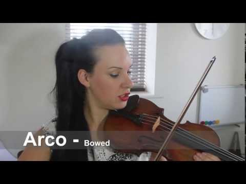 Violin Bowing Terms Explained