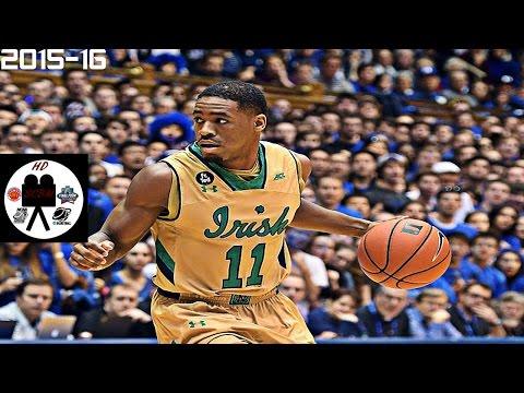 Demetrius Jackson Full Highlights vs Duke (1-16-16) 24 Points 4 Asissts