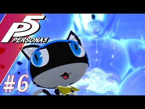 Morgana Will Promptly Shut Them Up  Let's Play Persona 5 Blind Part 6  Persona 5 Gameplay