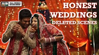 AIB : Deleted Scenes - Honest Weddings