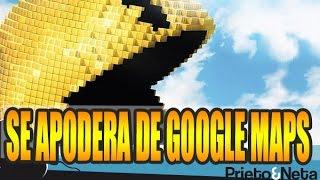 DIVERTIDO !!!: Pac-Man invade Google Maps y se puede jugar !!! Free HD Video