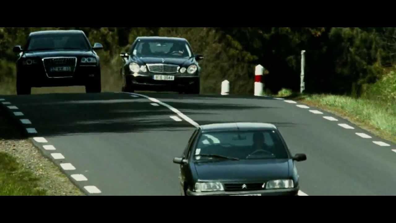 Audi A8 W12 >> Transporter 3 Car chase Verfolgungsjagd Le Transporteur Autojagd Audi A8 W12 - YouTube