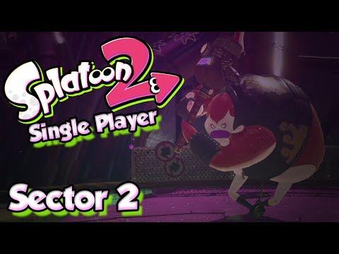 Splatoon 2 Story Mode #2 - Sector 2 & The Octo Samurai! (Single Player W/ DUDE)