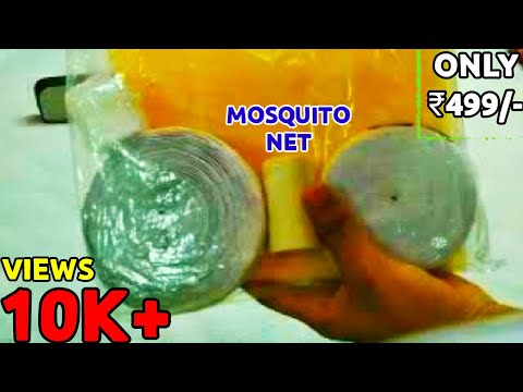 Unboxing Mosquito Net Package From Amazon At Only 500 RS - GoldenSTEPS