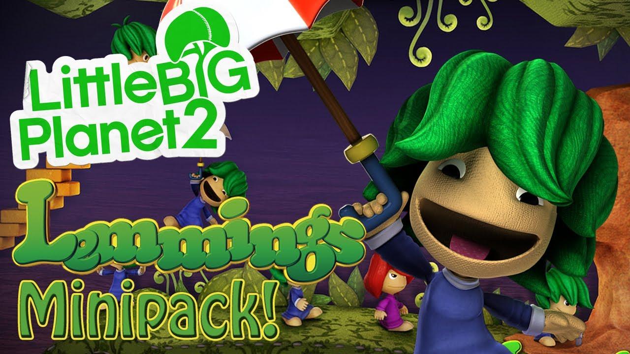 LittleBigPlanet 2 DLC - Lemmings Costume Minipack! - YouTube - photo#17