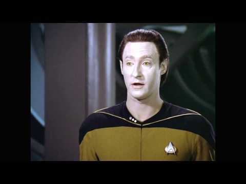 Data and Geordi: I Scorn to Change My Fate With Kings