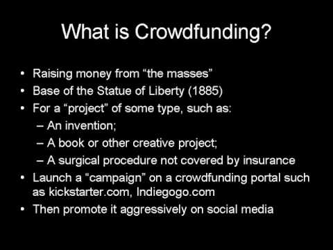 Crowdfunding Under the JOBS Act: Raising Capital Online for your Small Business or Startup