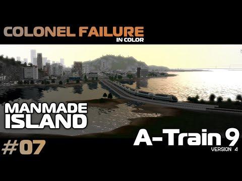 A-Train 9 v4 #7 : Man-Made Island Part 1