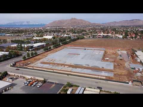 Centerpointe Commerce Center, Moreno Valley Pads Are Being Poured