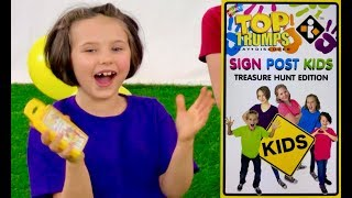 Unboxing Super Surprise featuring Sign Post Kids!