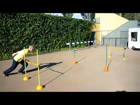 Circuito Agilidad Cnp : Circuito agilidad pruebas físicas oposport youtube