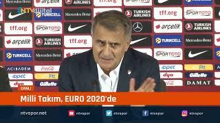CANLI | Milli Takım, EURO 2020'de... Şenol Güneş konuşuyor