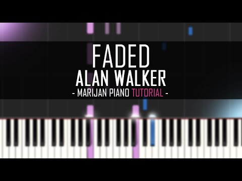 How To Play: Alan Walker - Faded | Piano Tutorial + Sheet Music