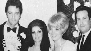 There's A Blonde Woman In Elvis And Priscilla's Wedding Snaps  Who She Is Will Leave You Stunned