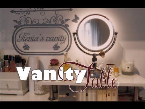 Utilities: La mia vanity table - 1°parte - postazione make-up