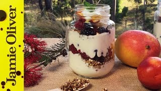 Fruit & Muesli Yogurt Parfait | Dani Stevens