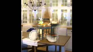 Cottage style dining room furniture design decorating ideas
