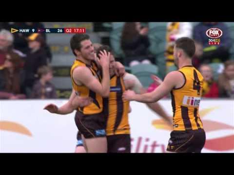 Frawley's celebration needs work  AFL