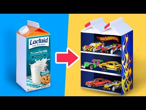 Make Old Toys Great Again / 10 Cool Ways To Reuse Lego, Hot Wheels and Beyblade