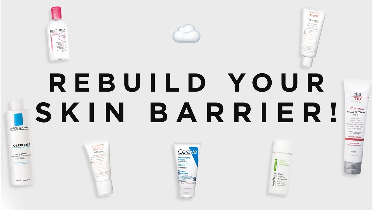 How To Rebuild Your Skin Barrier: The Products I Recommend | Dr Sam Bunting