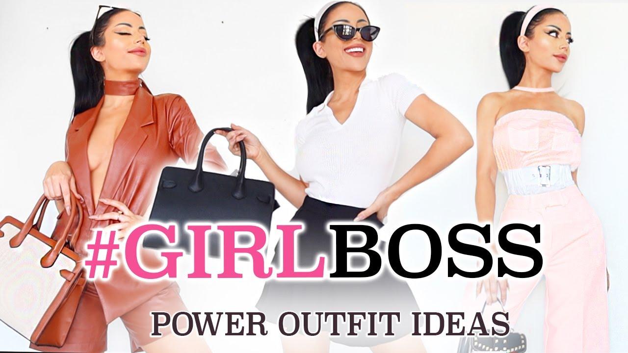 The *unofficial* Girl Boss Lookbook!
