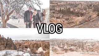 KAPADOKYADA 1. GÜN VLOG ASMALI KONAK /travel vlogger / turkeyturkey-turkish