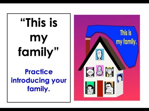 Introducing Your Family | Short Conversations | Easy English Conversation Practice | ESL
