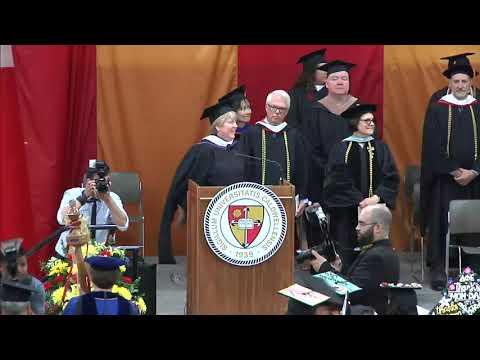 Caldwell University Undergraduate Commencement Ceremony 2018