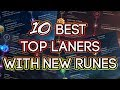 10 Best Top Laners With New Runes Pre Season Patch 7 22 mp3