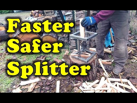 DIY: Kindling Wood Splitter build-along made from free shop scrap!